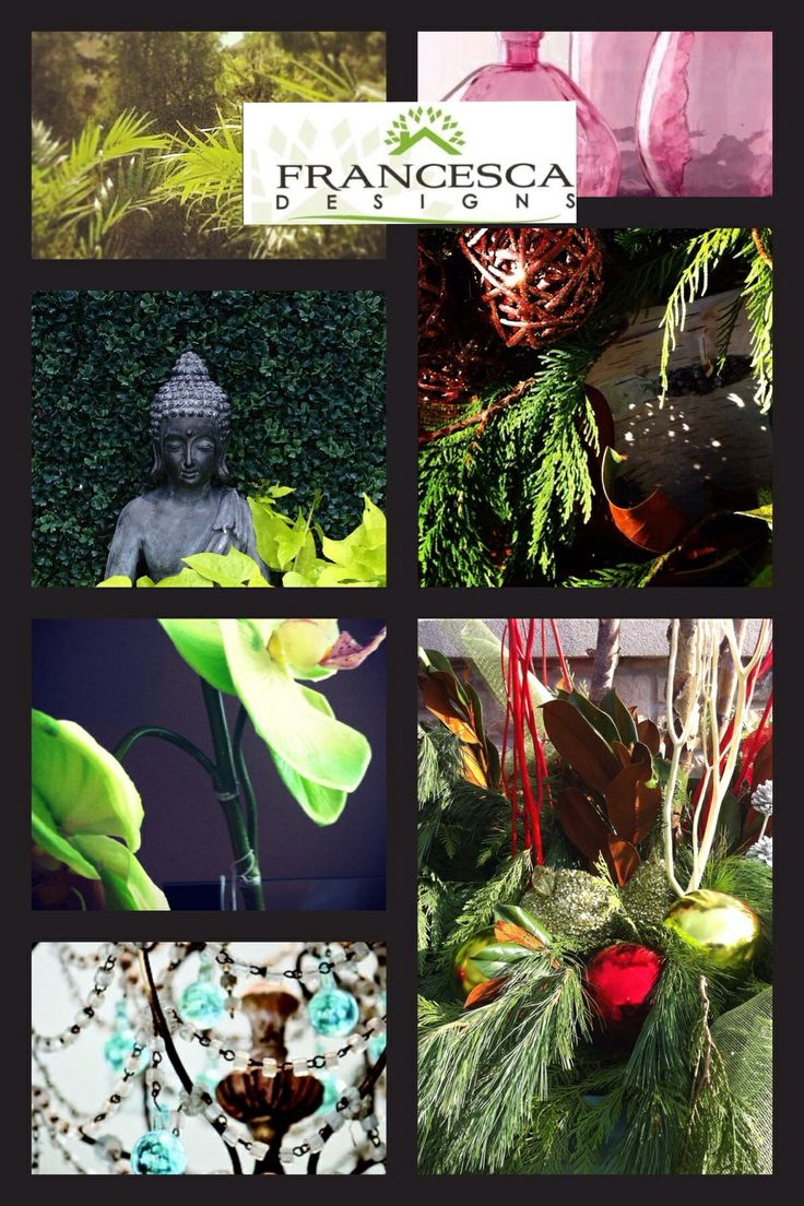 Francesca Designs - floral design for Christmas in fresh, everlasting and seasonal throughout the year!