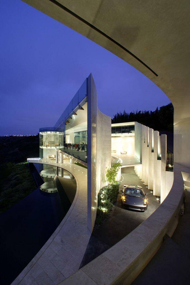 Ultra modern mansion