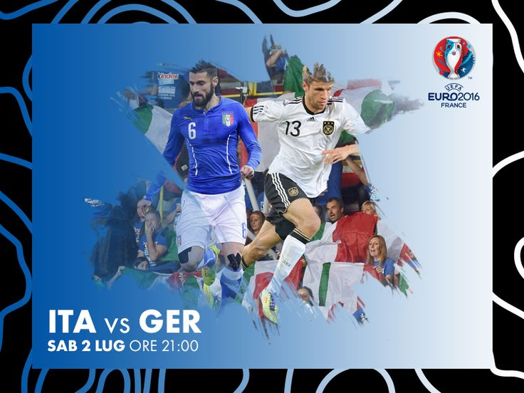Italia vs Germania by Rocco Gallo