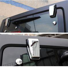 Mad Hornets - Upper Rear Door Window Hinge Cover Trims for Jeep Wrangler JK (2007-2017) Chrome, $21.99 (http://www.madhornets.com/upper-rear-door-window-hinge-cover-trims-for-jeep-wrangler-jk-2007-2017-chrome/)