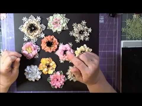 How to Do Paper Flowers with Heartfelt Creations