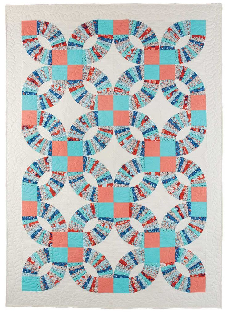 25 Best Images About Wedding Ring Quilts On Pinterest
