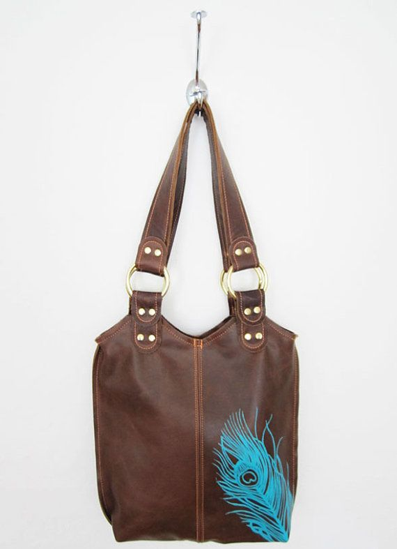 Small Peacock Bag by stitchandswash on Etsy, $145.00  love this bag!!!!!!!!!!!!!!!!!