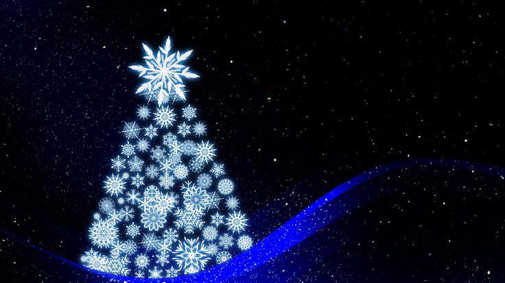 1366x768 Wallpaper christmas tree, art, new year