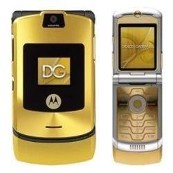 72bc54f0f2b91 Telefone Celular Motorola V3 Dolce Gabbana Semi-novo - R  149