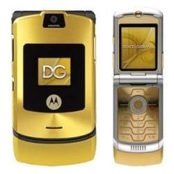 Telefone Celular Motorola V3 Dolce Gabbana Semi-novo - R$ 149,99