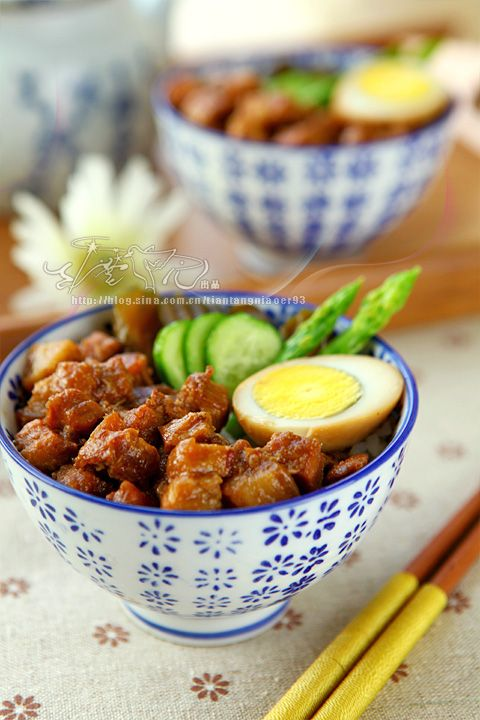 Taiwanese braised pork rice