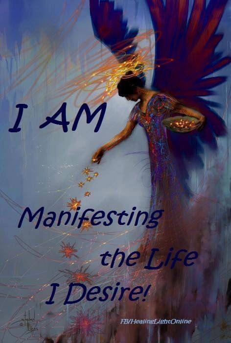 Manifest the life I desire #lawofattraction #affirmation #success…