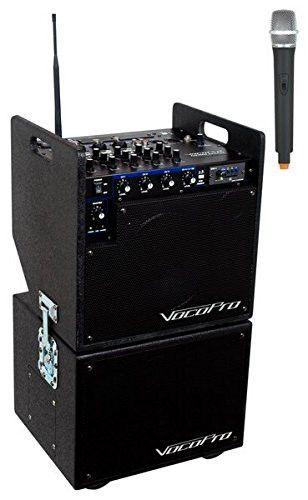 VocoPro MOBILEMAN 1(HEAD UNIT) Portable Karaoke System
