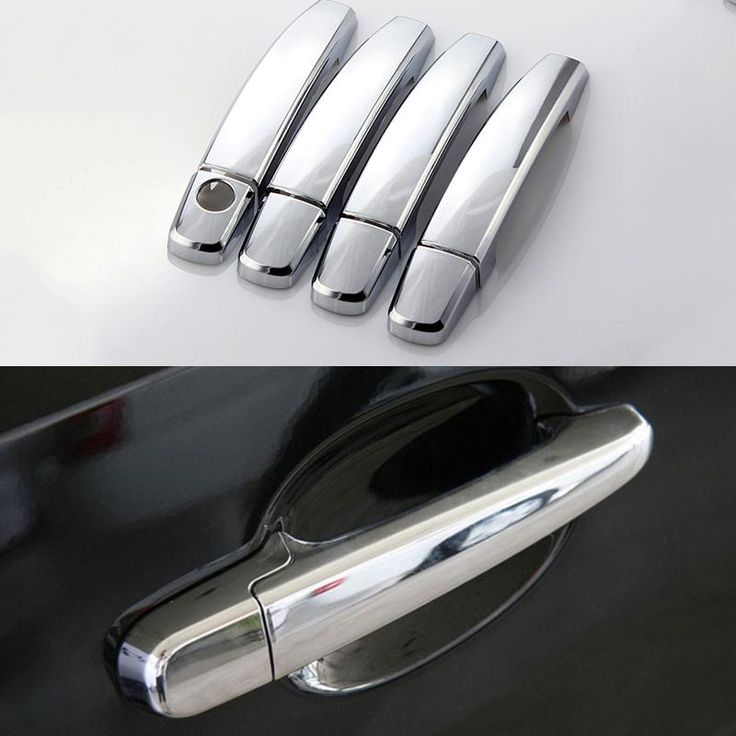 For Volkswagen Jetta 2012 2013 2014 2015 Car Door Handle Cover Chrome Styling ABS Electroplating Trim Sticker Auto Accessories #Affiliate