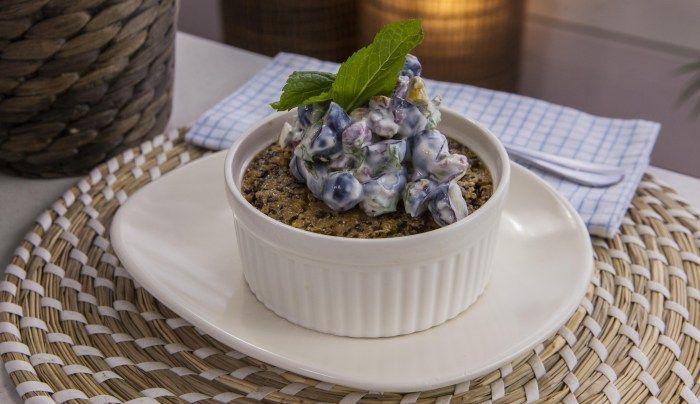 Vanilla Quinoa Baked Pudding - Good Chef Bad Chef