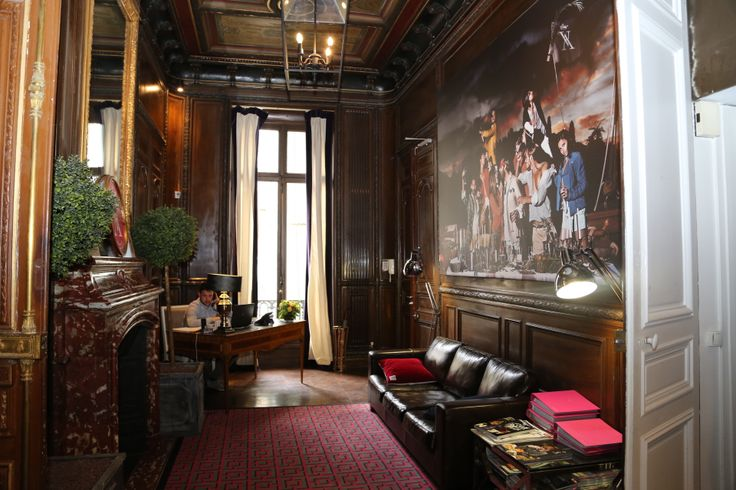 Hall d'accueil du Showroom Vicomte A - Magnifique non?
