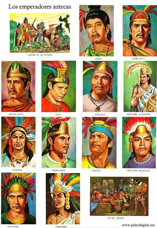 Los emperadores aztecas (1)