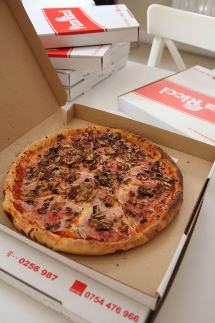 Pizza Ricci Prosciutto e Funghi