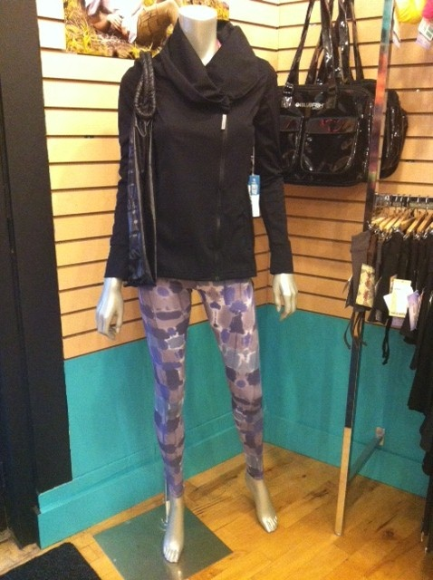 Cute outfit we put together using MPG Nixi jacket and Public Myth Mozaika leggings :) <3