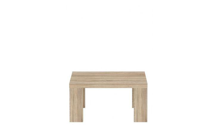 Eleganter Couchtisch Cora I der kleinere Couchtisch Cora passend zur Wohnwand Serie Cora Maße Couchtisch: B/H/T 70 x 35 x 70 cm Korpus: Sonoma-Eiche (D30) Front:...