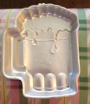 Wilton beer mug Stein cake pan mold