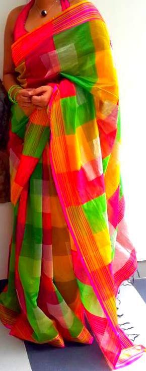 sarees: Muslin Silk Tussar Silk Garad Silk Kantha Silk Baluchari Silk Korial Silk Matka Silk Khadi & Jute Silk Jamdani Cotton & Silk Murshidabad (printed) Silk Tant Cotton & Silk