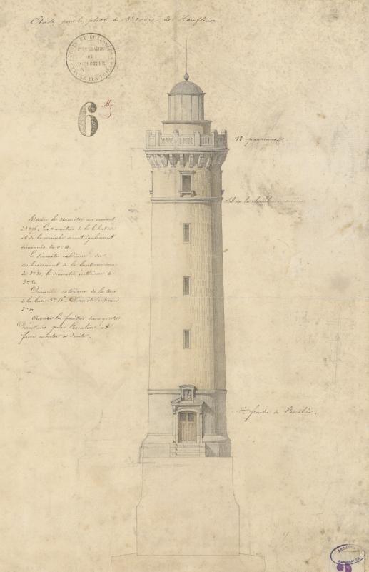 Vieux phare de Honfleur Arch nat CP/F/14/17509/6, pièce 12