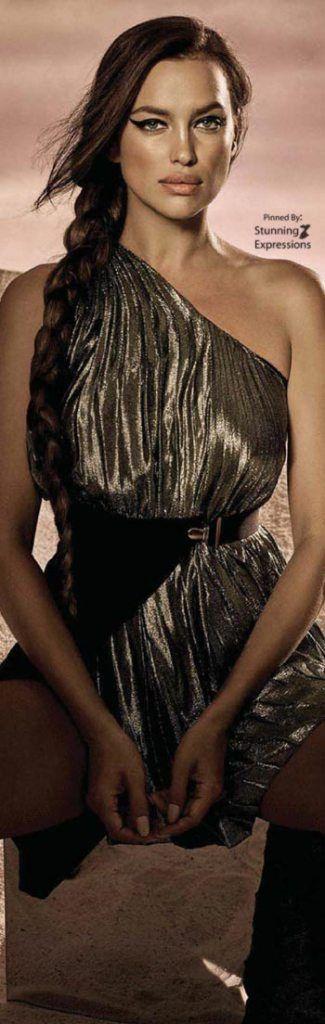 Irina Shayk by Jason Kibbler – Vogue Mexico October 2017