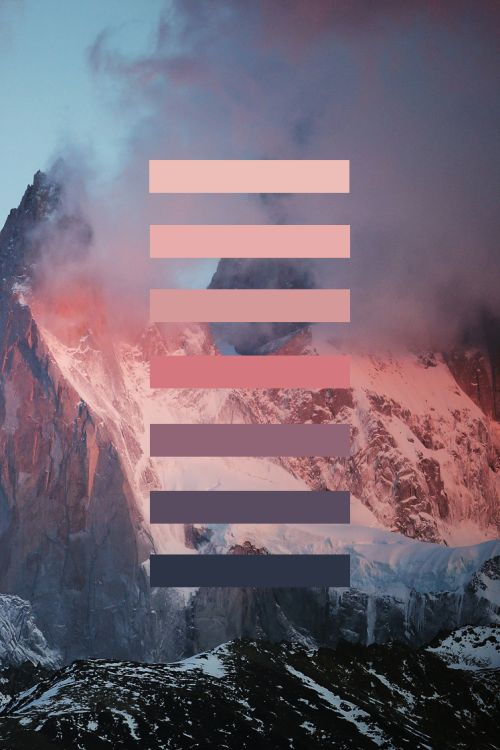 If I was a color palette, this would be it. Alexandre Deschaumes - Patagonia