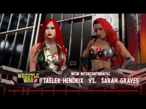 WWE2K17-DIVAS UNIVERSE-WRESTLE WAR-INTERCONTINENTAL TITLE MATCH-TAELER H...