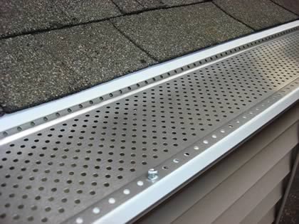 ShurFlo is moreover one of the only gutter guards on the market that requires No MAINTENANCE!
