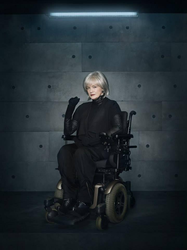 Fringe season 5 - Blair Brown. wheel chair, tv series, great show, portrait, photo