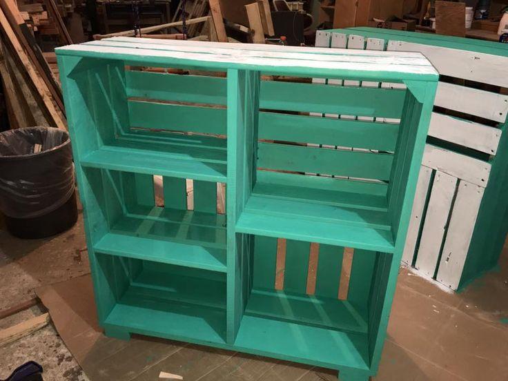 Adorable Pallets Wood Crate Shelves | Pallet Furniture