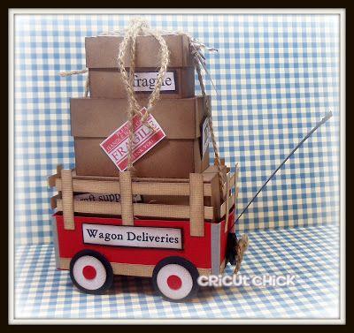 Cricut Chick: My LittleRed Wagon