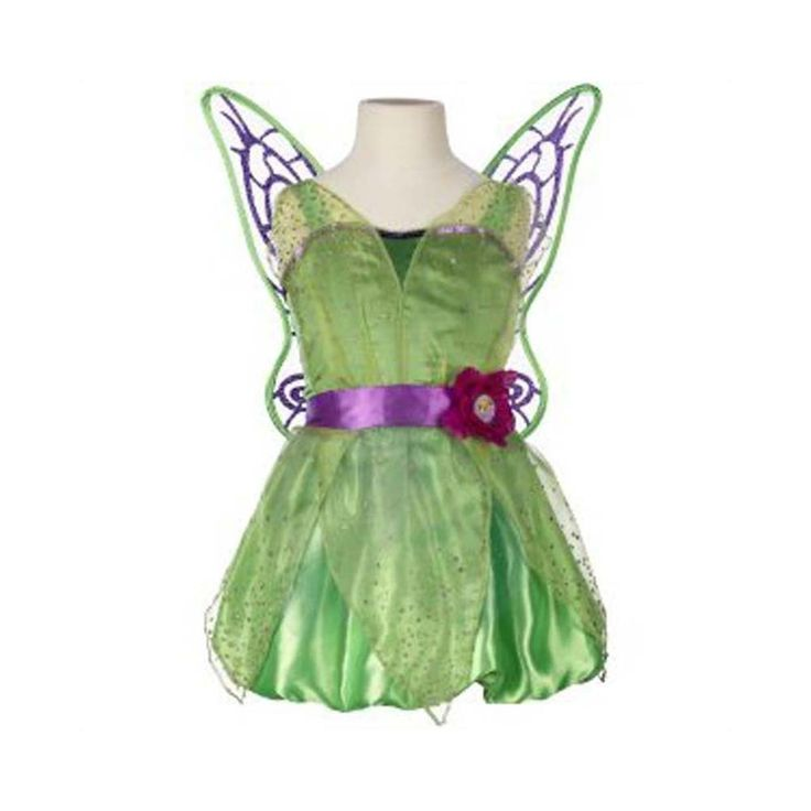 Let your little girl flutter her very own wings with our Disney Fairies costumes. #Magic Monday  Complete the outfit with these fairy shoes: http://www.toysrus.co.za/pretend-play-dress-up/dress-up-costumes/disney-fairies-dress-up-shoes.html
