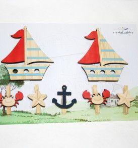 Boat Art Pegs