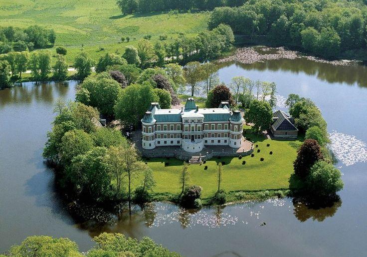 Hackeberga Castle in Skane, Sweden