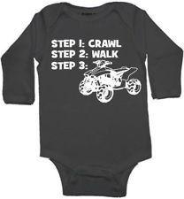 crawl walk ATV quad 4 wheeler custom baby by KIDSROCKCLOTHING