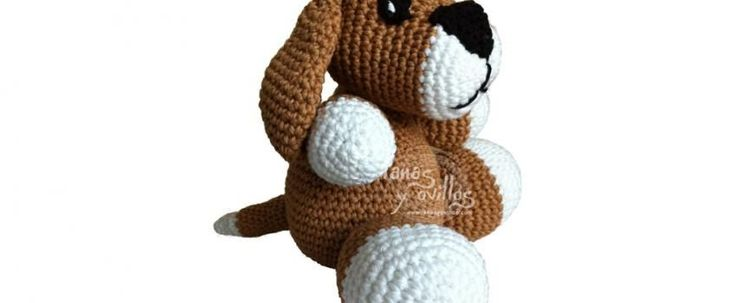 dog amigurumi free crochet pattern with video tutorial