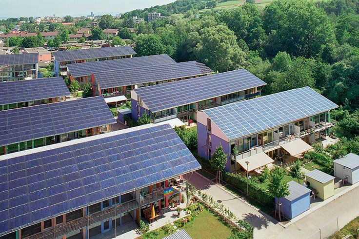 Com tetos solares, bairro alemão já produz quatro vezes mais energia do que consome