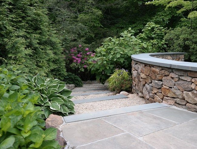 8 Landscape Design Tips for Creating an Enticing Garden from Garden Design magazine. Stone And Gravel Steps Johnsen Landscapes & Pools Mount Kisco, NY