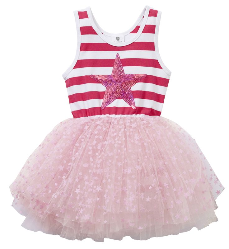 Machiko - a boutique for kids - Hootkid | Set To Party TuTu Dress, $24.95 (http://www.machikobaby.com.au/products/hootkid-set-to-party-tutu-dress.html)