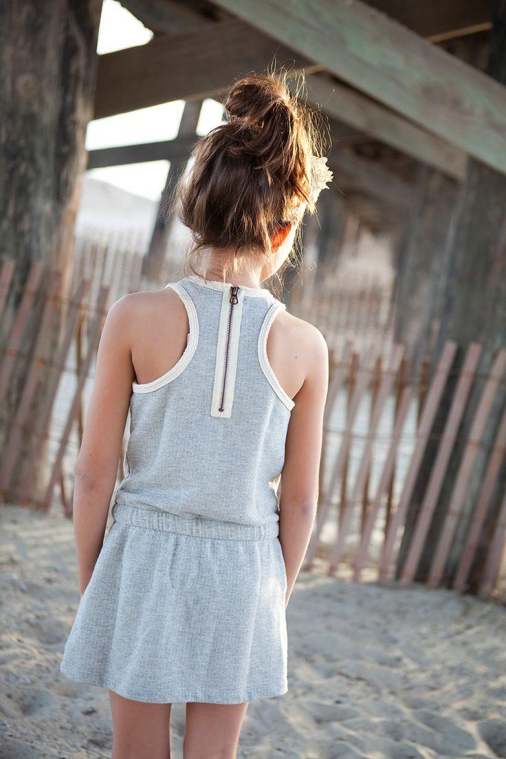 R'Belle Grey Sporty Sweat Dress