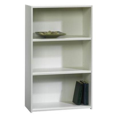 Target Room Essentials 174 3 Shelf Bookcase White Shelves For Book Baskets Then Cover Back And