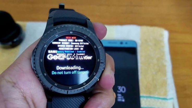 Bypass Remove Samsung Account Reactivation Lock On Samsung GEAR S3 Class...
