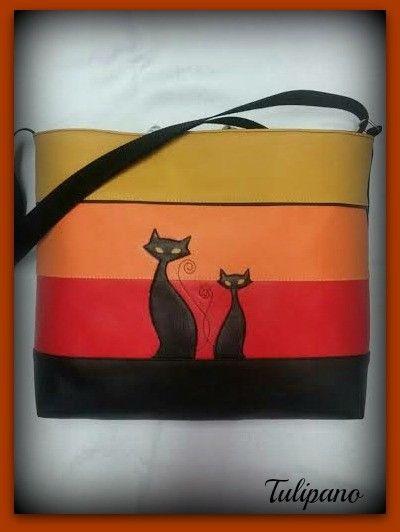 Petra táska színesben