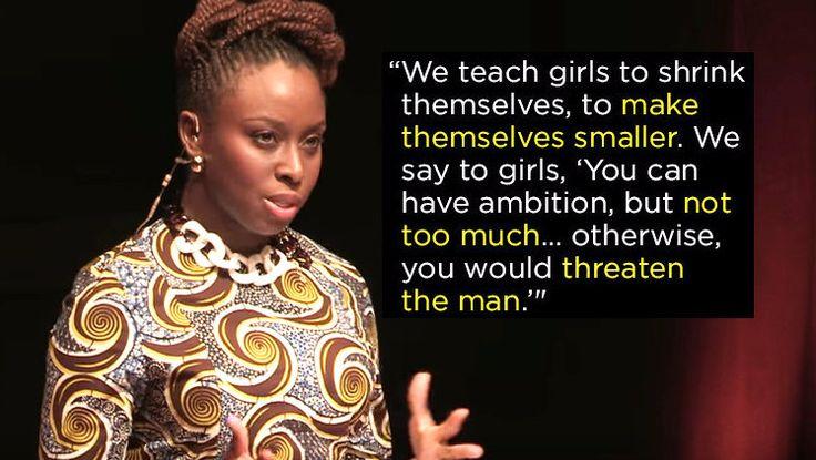 """We Should All Be Feminists"" — Chimamanda Ngozi Adichie | 17 TED Talks Guaranteed To Change Your Life"
