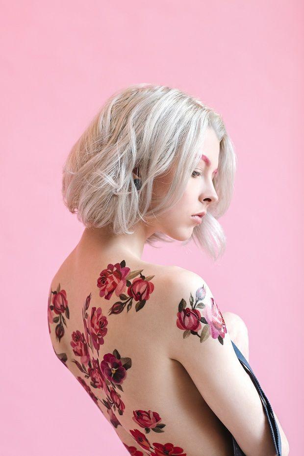 Tattoos temporárias Sasha Unisex x Estée Lauder