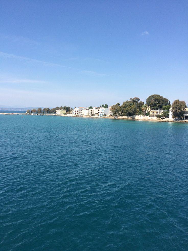 Eretria, ferry