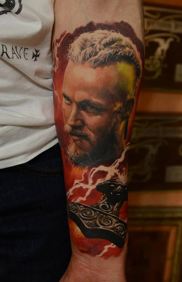 Anyone watch the vikings on the history channel if not for Did vikings have tattoos