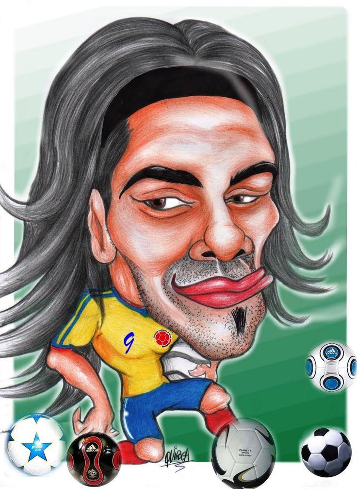 Radamel Falcao  Seleccion Nacional de Colombia