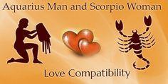 Aquarius male and Scorpio female Love Compatibility