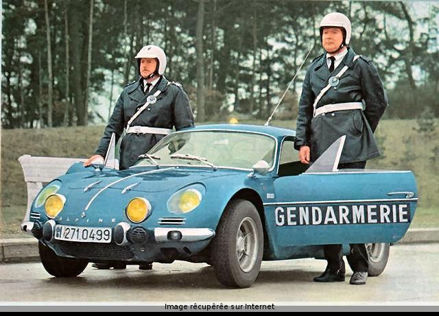 Alpine A110 French Genadarmerie