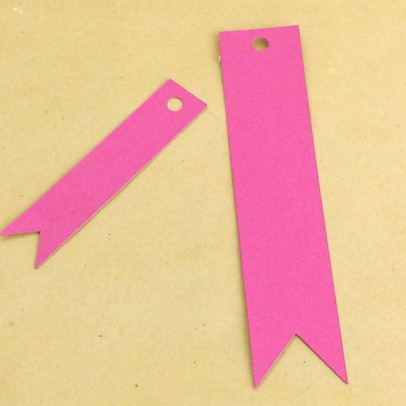 50 flag tags, hang tags, gift tags, price tags, blank tags, product tags, seller supplies,gift tag, pennant tag by craftschmooze. Explore more products on http://craftschmooze.etsy.com